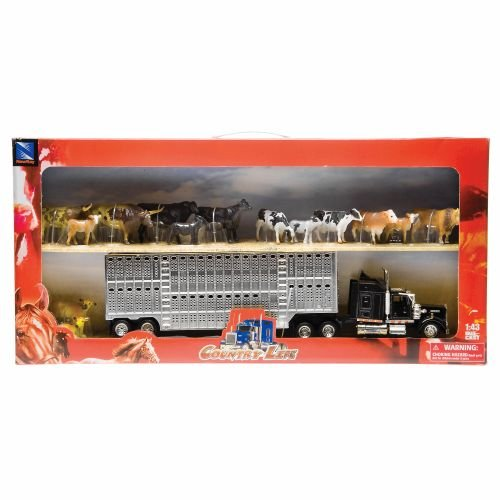 - New Ray SS-15365C 1:43 Livestock Playset