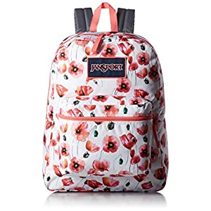 JanSport Unisex Overexposed Multi Cali Poppy Backpack