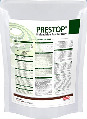 Prestop Biofungicide 100 Gram/3.5oz OMRI Listed Organic! Superior to Actinovate & Rootshield!
