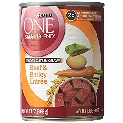 Purina One Tender Cuts Gravy And Beef Food, 12 By 13 Oz.