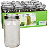 Ball 252 Wide Mouth Quart Jar Set Of 12