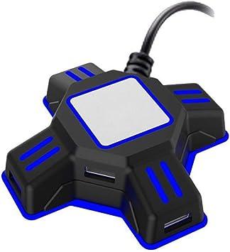 JIN Caja de conversión Gamepad a Teclado Umbral del ratón ...