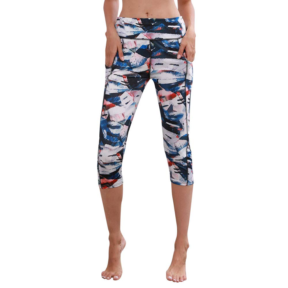 NINGSANJIN Sport Leggings Damen Sporthose Fitnesshose Yoga Leggings Sporthosen für Damen Geschenke