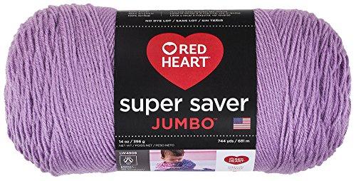 Coats & Clark Red Heart Super Saver Jumbo Orchid, Coats & Clarks Yarn