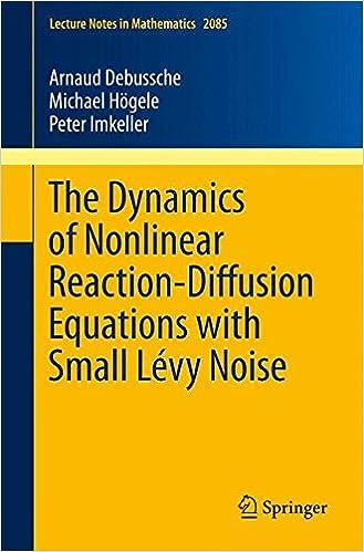 Amazon com: The Dynamics of Nonlinear Reaction-Diffusion