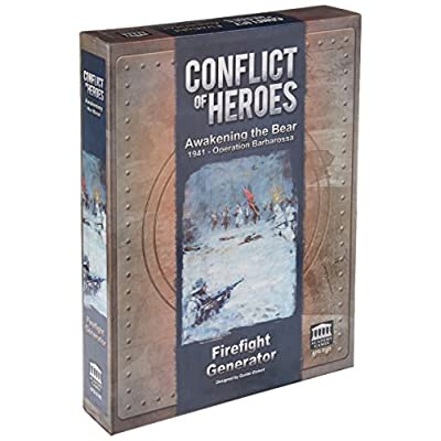 Conflict of Heroes: Awakening the Bear - Firefight Generator: Toys & Games