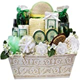 Jasmine Renewal Spa Relaxing Bath and Body Gift Basket Set, Large