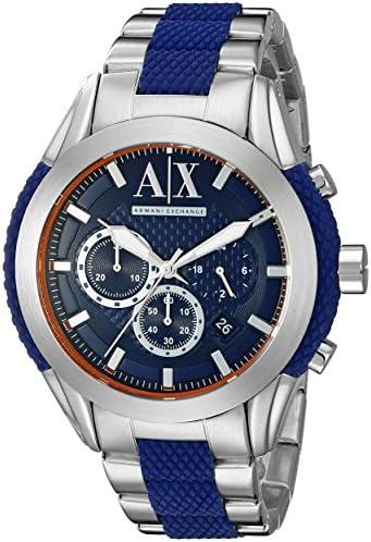 Armani Exchange Men s AX1386 Silver Watch