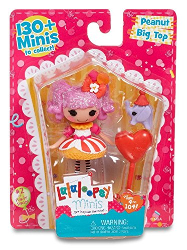 Circus Silly Elephant - Mini Lalaloopsy Super Silly Party Doll- Peanut Big Top