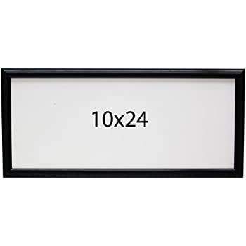 Amazon.com - 10x24 inch Picture Frame, Single Frame - Black -