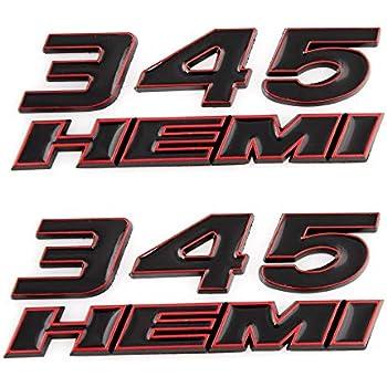 2Pcs Black Door Side  Fender Sticker Decoration Badge Emblems FOR CADILAC  FU