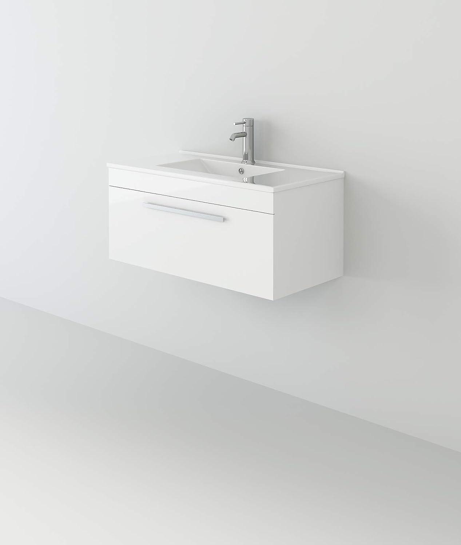 VeeBath Sphinx Wall Hung Basin S Cabinet Vanity unisex 5% OFF Square Furniture