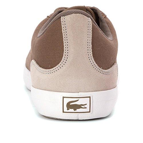 Lacoste Mens Lerond Sep Sneaker Marrone Chiaro / Naturale