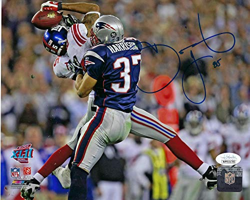 New York Giants David Tyree Makes The Helmet Catch During Super Bowl 42. 8x10 Autographed Photo Picture. - Giants 8x10 Picture