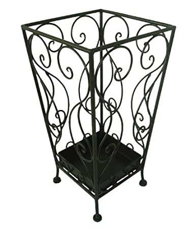 mauro ferretti umbrella stand iron square 24 x 455 cm black amazoncouk kitchen home amazoncom alba pmclas chromy
