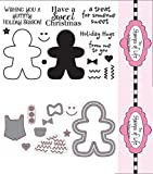 The Stamps of Life Clear Stamps & Dies, gingerbread2stamp & Gingerbread Die Set