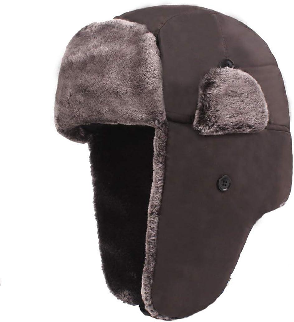 Thick Plush Bomber Hat Warm...