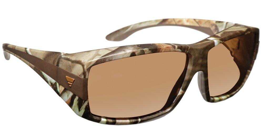 Haven Fitover Sunglasses Breckenridge in Camo & Polarized Amber Lens (MEDIUM/LARGE)
