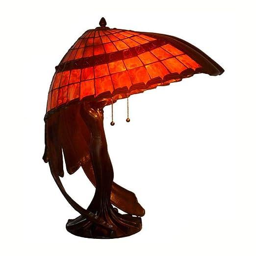 Tiffany Style Mesa Lámpara de 20 pulgadas Vitral lámpara de mesa ...