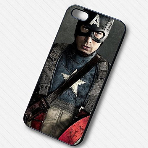 Captain America Poster pour Coque Iphone 6 et Coque Iphone 6s Case B7W8RB