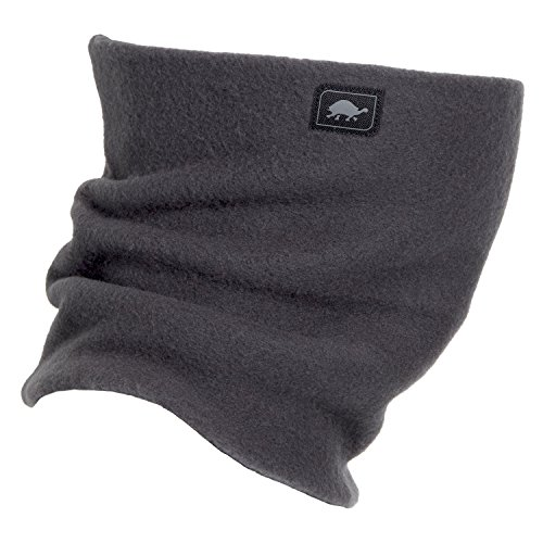 Turtle Fur Original Fleece Neck Warmer The Turtle's Neck Winter Face Mask Carbon