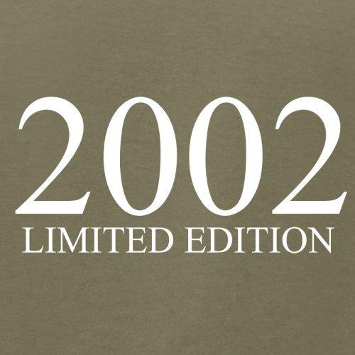 2002 Limierte Auflage / Limited Edition - 15. Geburtstag - Herren T-Shirt - Khaki - M