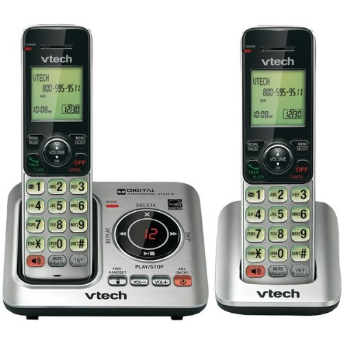 (Multi Handset Phone System in Silver and Black)