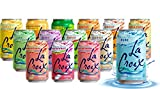 La Croix Sparkling Water - All Flavor Variety Pack, 14 Flavors (Sampler), 12 Oz Cans, Flavored Seltzer Drinking Water...