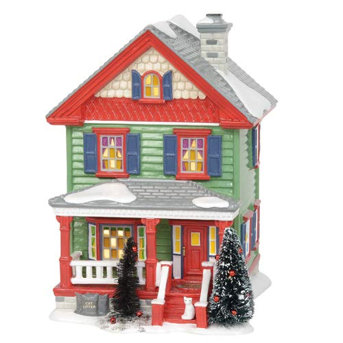Department 56 Original Snow Village Aunt Bethany's Lit House