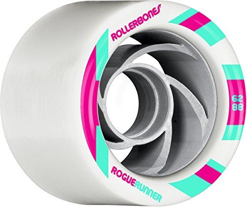 RollerBones Rogue Runner Signature Wheel Set of 8 Rollerskate Wheels by RollerBones (Image #1)