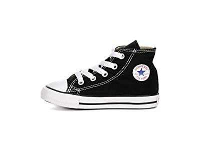 78b234be0730 CONVERSE ALL STAR CHUCK TAYLOR HI TOP BLACK 7J231 UNISEX INFANT TODDLER  SHOES US SIZE 9