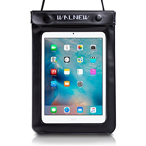 Wal Universal Waterproof eReader Protective Case Cover Waterproof Bag Sony eBook Reader Wi-Fi, Kobo Touch, Kobo Wi Fi, Nook Simple Touch, iPad Mini and more (2 in Pack) from Electronic-Readers.com