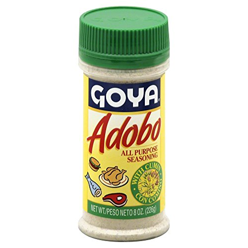 Goya Adobo with Cumin 8.0 OZ(Pack of 4) by Goya