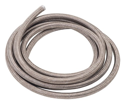 - Russell 632090 ProFlex -6AN Stainless Steel Braided Hose - 20 Feet