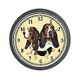 CafePress – Basset Hound Wall Clock – Unique Decorative 10″ Wall Clock Review