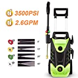Best Electric Power Washers - Homdox 3500PSI Electric Pressure Washer, 1800W Power Washer Review