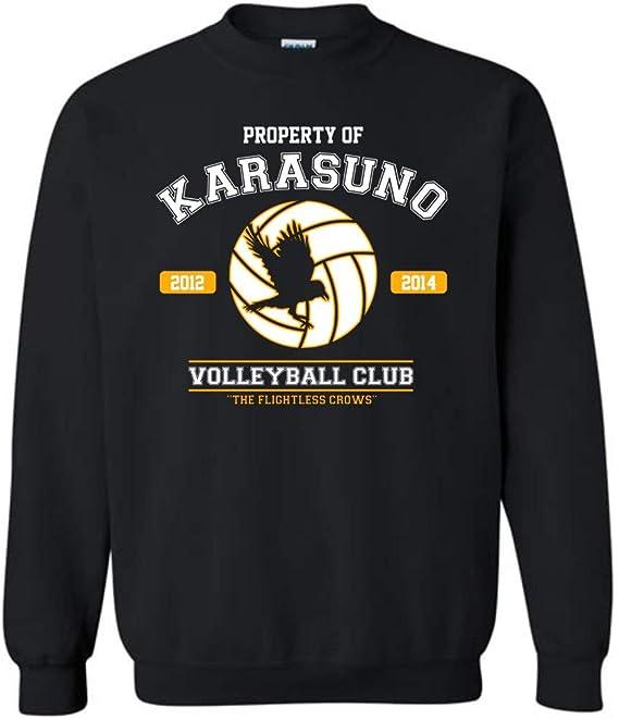 Adventure Apparel Property of Karasuno Volleyball Club Haikyuu Inspired Sweatshirt