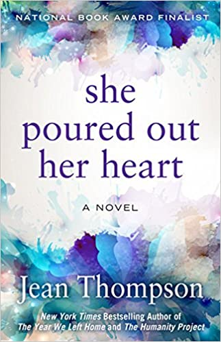 She Poured Out Her Heart Amazon Fr Jean Thompson Livres