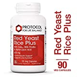 Cheap Protocol For Life Balance – Red Yeast Rice Plus 600 mg – with CoQ10, Milk Thistle & Alpha-Lipoic Acid to support Cardiovascular and Liver Function – 90 Veg Capsules