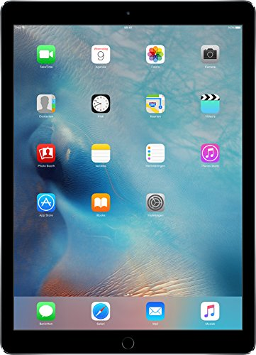 Price comparison product image 2015 Apple iPad Pro 12.9-inch Tablet Digitizer Pencil Not Included (128GB, Wi-Fi Only, Space Gray)