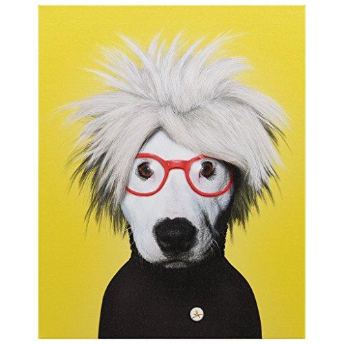 (Empire Art Direct Pets Rock Soup Graphic Wrapped Canvas Dog Wall Art, 20