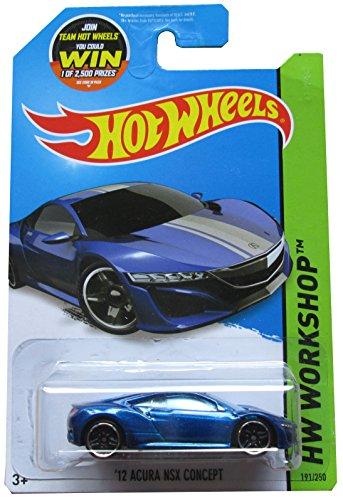 Hot Wheels 2015 HW Workshop '12 Acura NSX Concept 191/250, Metallic - Nsx Wheels Acura Hot