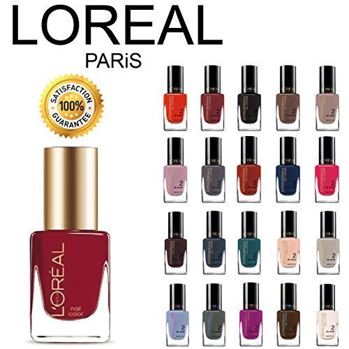 L'Oreal Paris Extraordinaire Gel-Lacque 1-2-3 Nail Color Set 10-Piece Collection Random