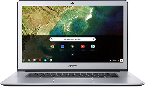 Acer Chromebook 15 CB515-1HT-P39B, Pentium N4200, 15.6″ Full HD Touch, 4GB LPDDR4, 32GB Storage, Pure Silver