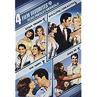 4 películas favoritas: Elvis Presley Musicals (Girl Happy /Kissin 'Cousins /Live a Little, Love a Little /Tickle Me)