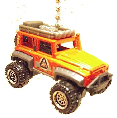 matchbox-cars-trucks-ceiling-fan-pulls-limited-custom-offroad-jeep-orange