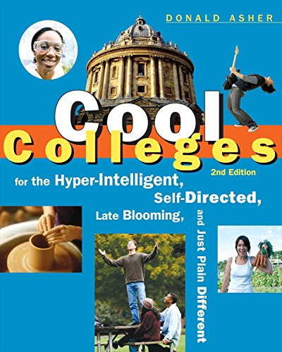 Pdf Test Preparation Cool Colleges: For the Hyper-Intelligent, Self-Directed, Late Blooming, and Just Plain Different (Cool Colleges: For the Hyper-Intelligent, Self-Directed, Late Blooming, & Just Plain Different)
