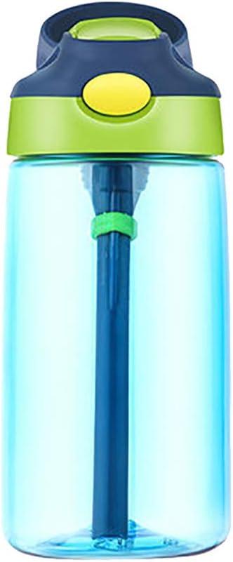 Flying Lisa Botella de Agua Flip Led Straw Water Drink Bottle ...