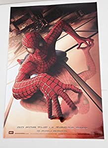 2002 2001 The Amazing Spider-Man Movie Poster SpiderMan 11x17 Columbia Pictures