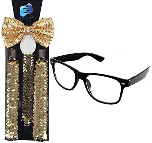 Enimay Suspender Wayfarer Glasses Halloween product image